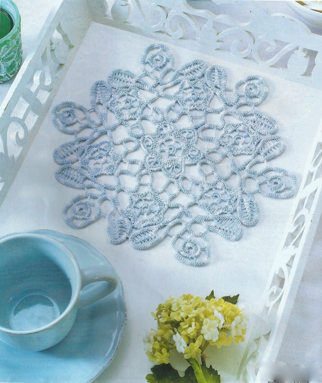 anna 0307 blue & white rpl mat