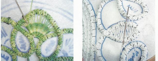 Close up of RPL stitches Anna 0307