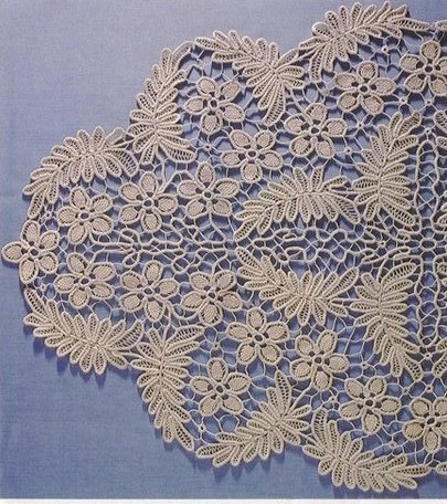 Crocheting Lace : Romanian Point Lace (MacramE Crochet Lace) Fiber Art Reflections