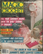 Magic Crochet cover August 1988 #55