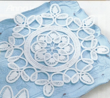 Romanian Point Lace Crochet from the March 2007 issue of Anna Burda magazine