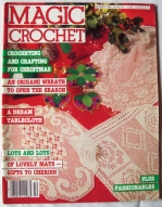 magic crochet cover 44 october 1986 edit