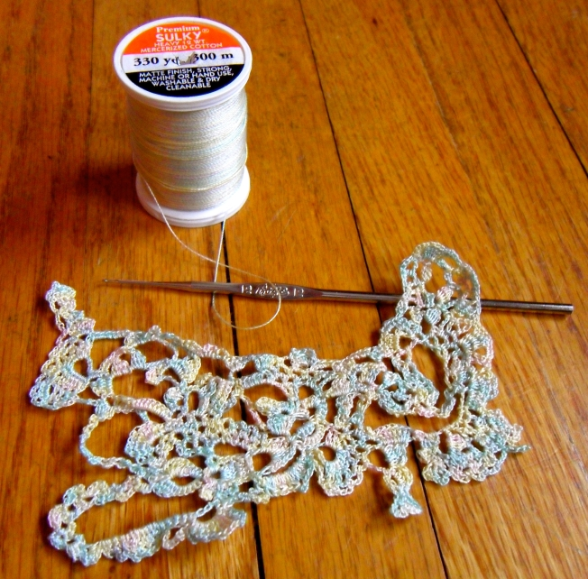 Sulky Blendable Thread Crochet: Fiber Art Reflections
