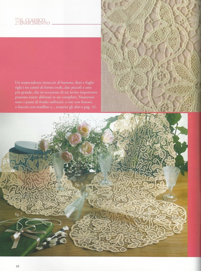 Crochet Tape Lace: Fiber Art Reflections