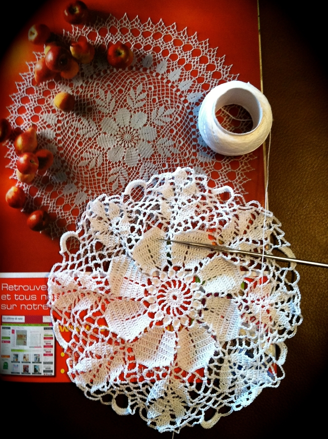 Crochet lace project