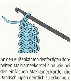 Duplo makramee-häkelkordel de Lena, setembro 2011
