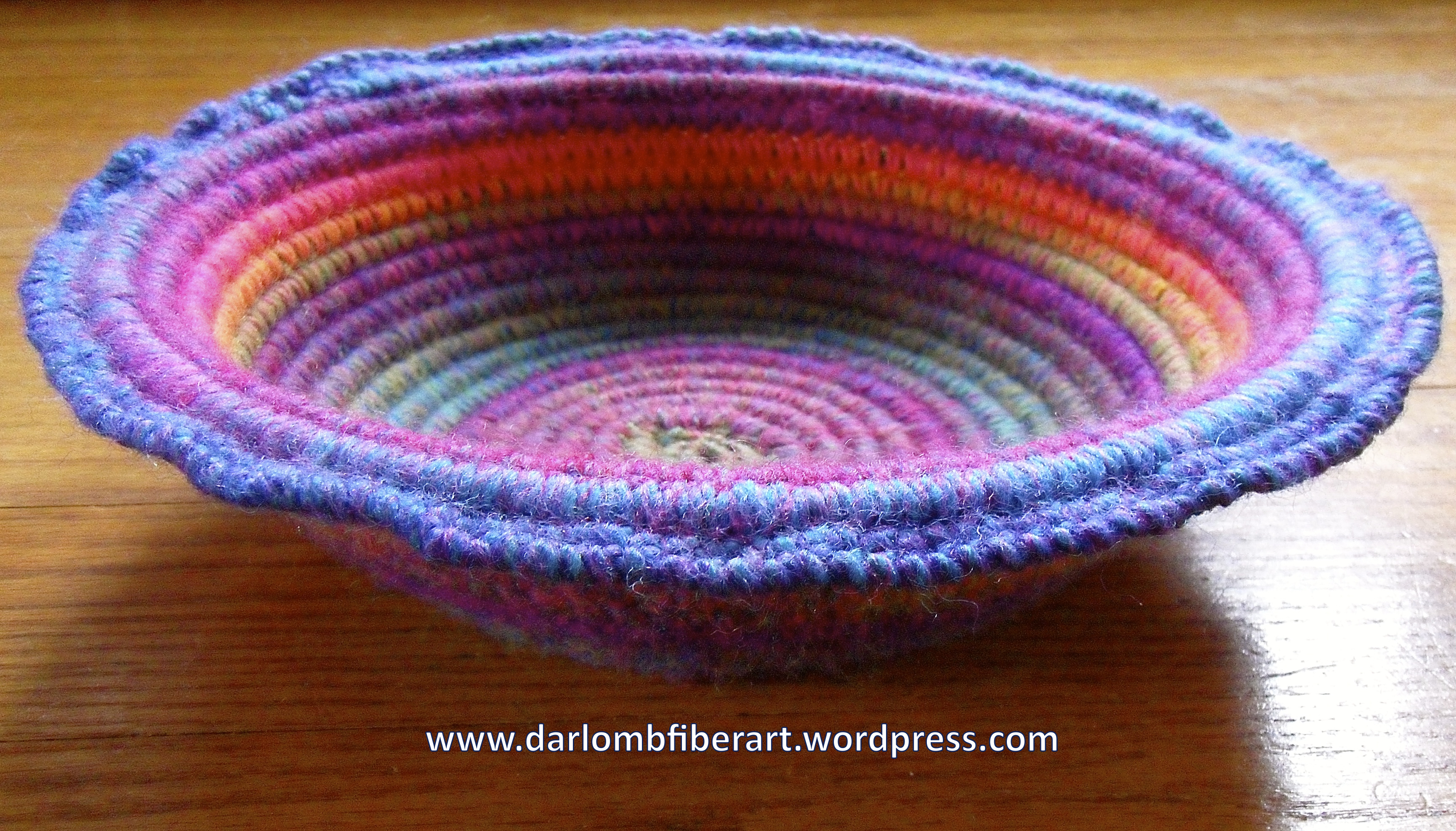 Crochet Coiled Basket Guidelines & Ideas | Fiber Art Reflections