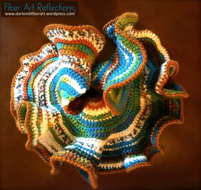 Hyperbolic crochet plane