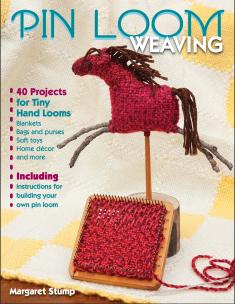 Pin Loom Weaving by Margaret Stump