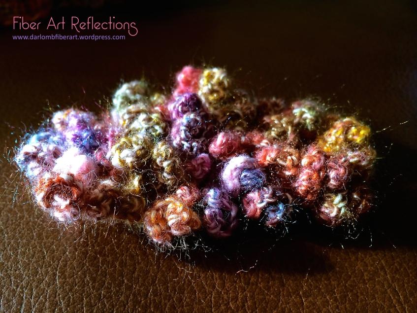 Freeform crochet using Queensland Uluru yarn