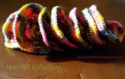 Hyperbolic Crochet: Expanding Spiral tutorial