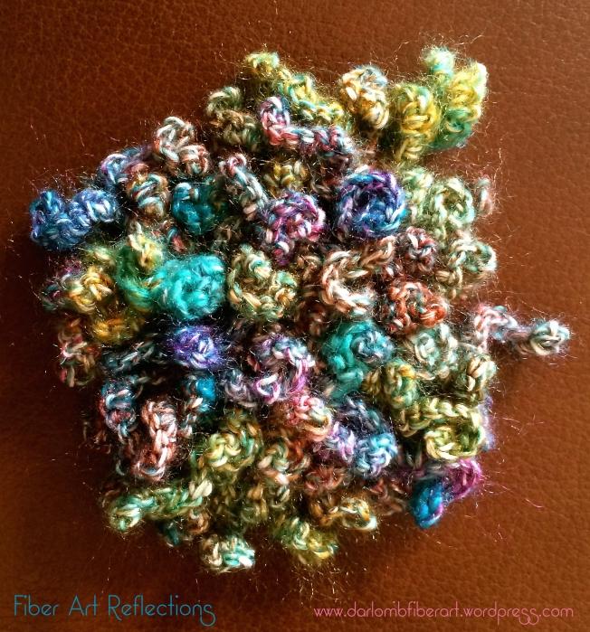 Fiber Art Reflections: Freeform Curlicue Crochet